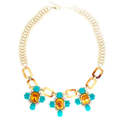 Bliss Two Tone Necklace