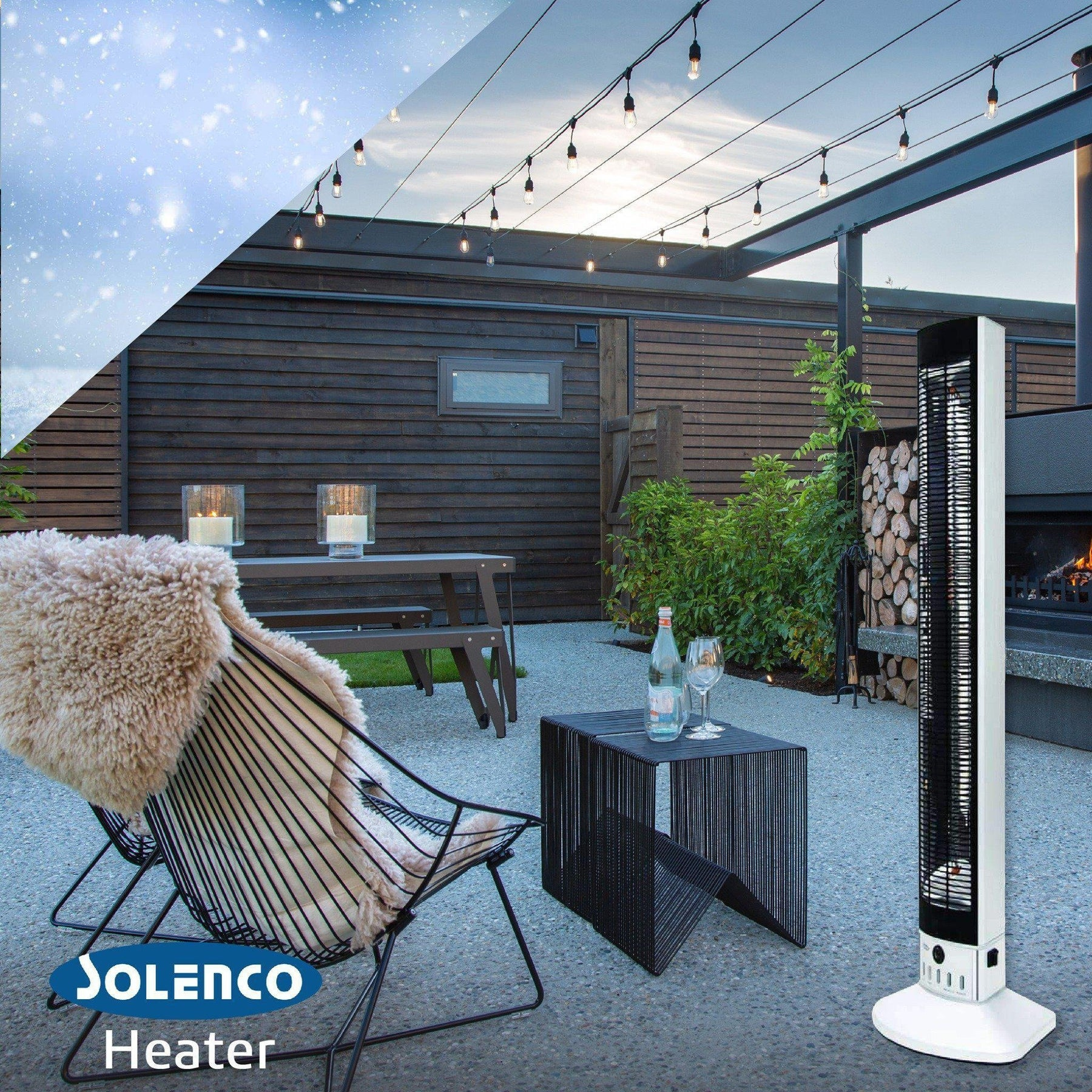 Which is more cost effective to run Gas or an Infrared Heater?-Solenco South Africa