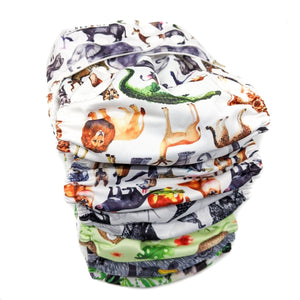 ANIMALS STACK CLOTH NAPPIES