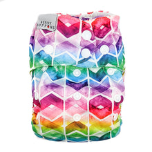 Load image into Gallery viewer, Rainbow Chevron Nappy