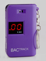 BACtrack Keychain purple Breathalyzer
