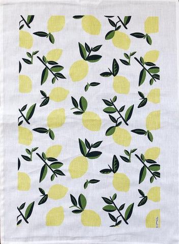 Vintage Lemon Tea Towel