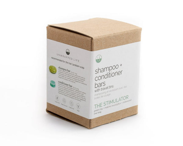 The Stimulater Travel Set (Shampoo + Conditioner)