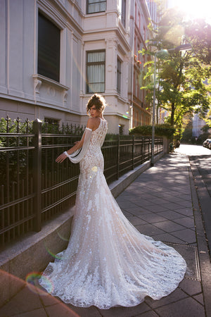 087 Madison 2020 Mermaid Wedding Dress