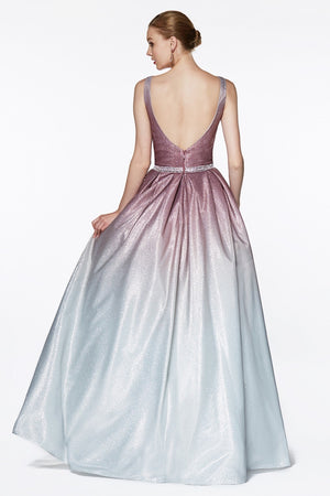 Ombre glitter ball gown - Channy Bride & Beyond