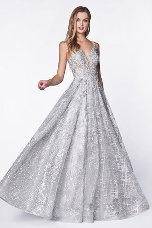 Glitter ball gown - Channy Bride & Beyond