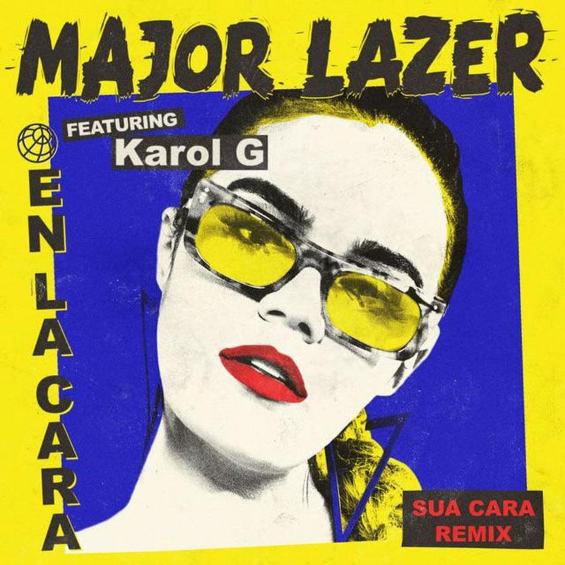 Karol G, new Cover album wearing Wilde Sunglasses model 60`s, Collection SS18