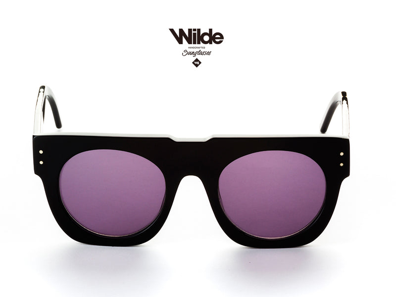 MIAMI BLACK TIGER BY WILDE EYEWEAR.
