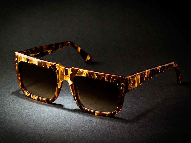 Sunglasses model 168 Gold By Wilde Sunglasses COLLECTION