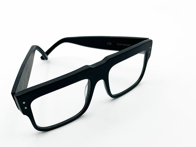 NEW 168 BLACK MATTE  EYEWEAR 2021
