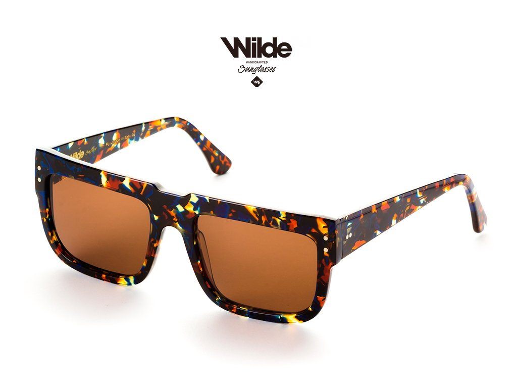 New Sunglasses model 168 Blue Tortoise By Wilde Sunglasses COLLECTION 2019