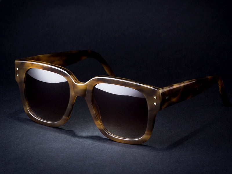 New D.B. Brown Sunglasses. Down 2019 - Open 2020. By Wilde.