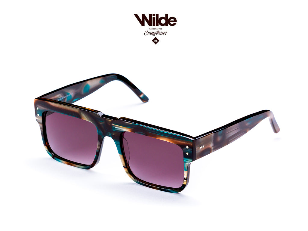 SUNGLASSES MODEL 168 - NAKAR BLUE  BY WILDE SUNGLASSES - COLLECTION 2018