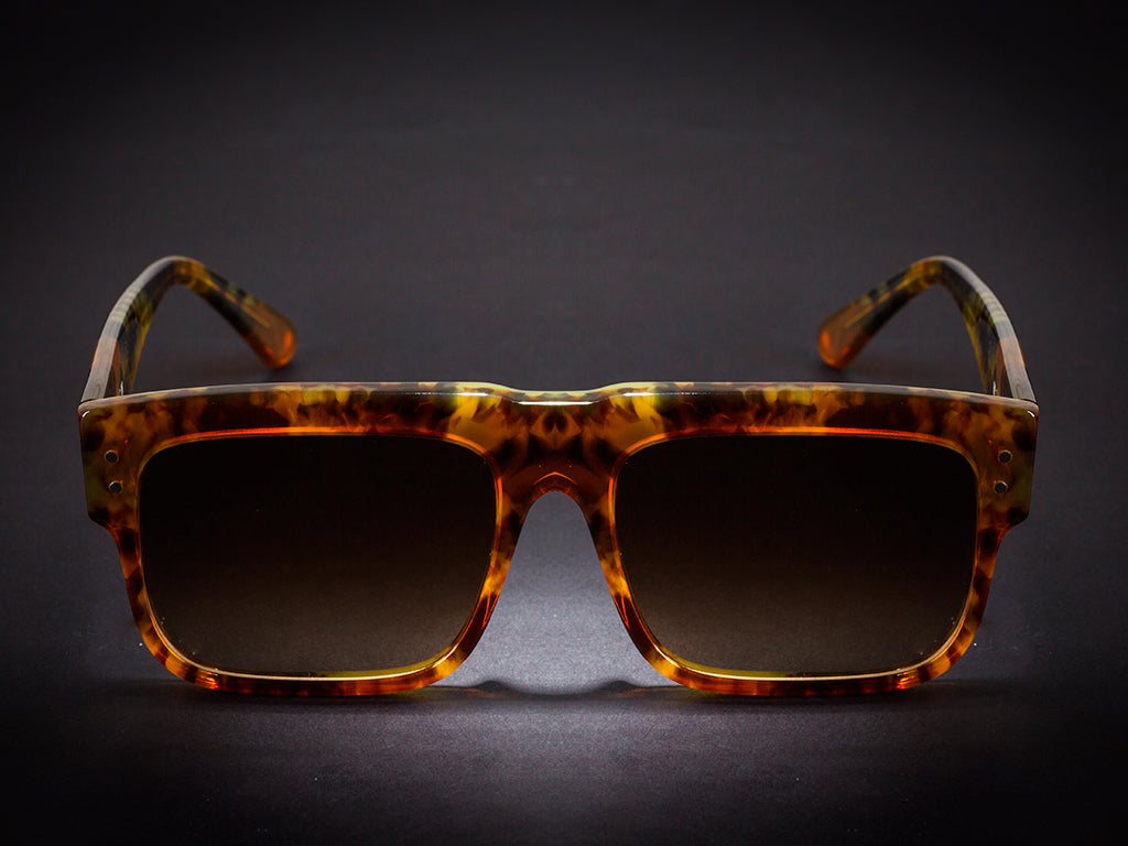 SUNGLASSES MODEL 168 - TORTOISE  BY WILDE SUNGLASSES - COLLECTION 2018