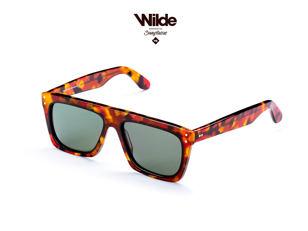 SUNGLASSES - OSCAR TORTOISE - 100% UV PROTECTION - BY WILDE SUNGLASSES