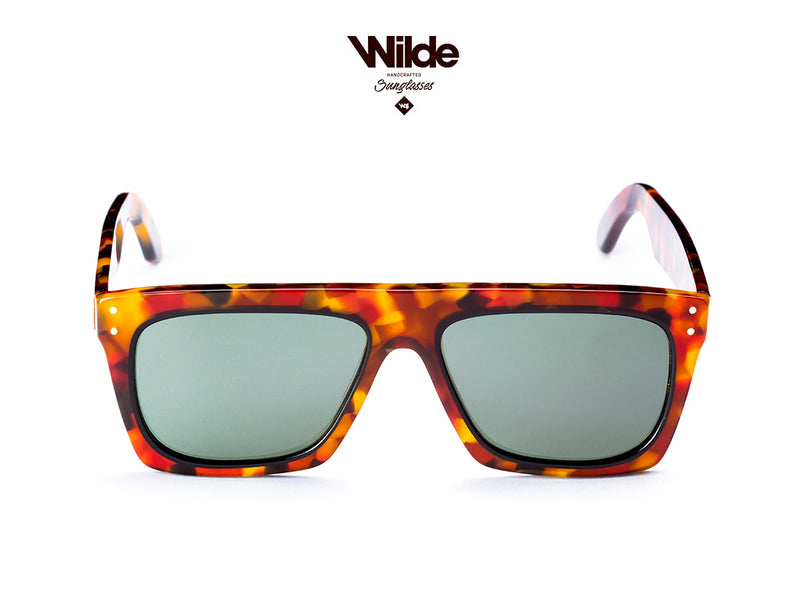 NEW MIRACLE TORTOISE WITH YELLOW LENSES SUNGLASSES