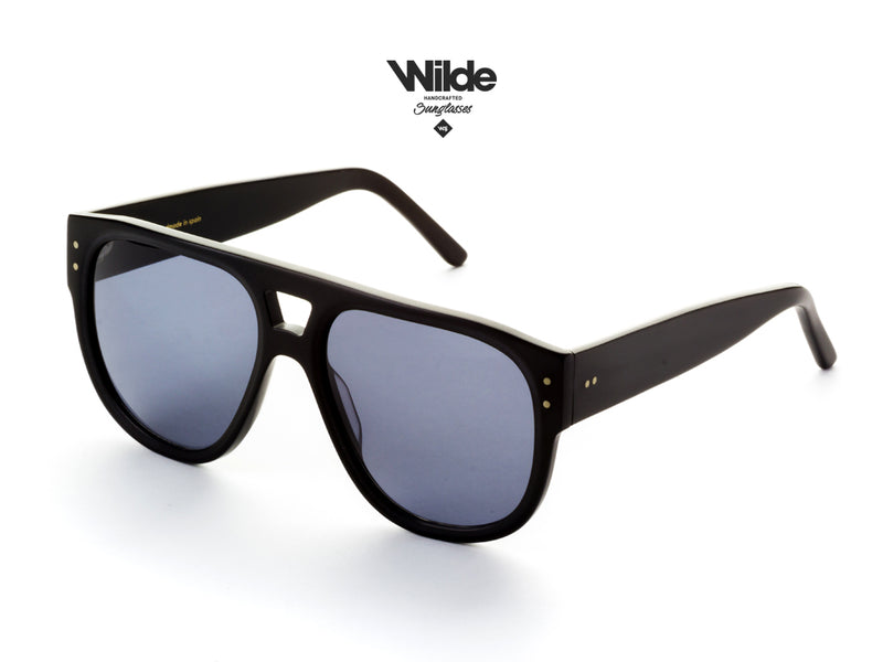 BLACK SUNGLASSES MODEL LOCAL 2018 BY WILDE SUNGLASSES