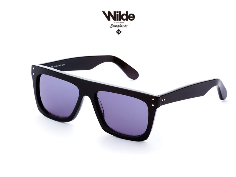 HOT DEAL! 25% OFF -BLACK SUNGLASSES MOD.168 -  V-I . BY WILDE SUNGLASSES 2019
