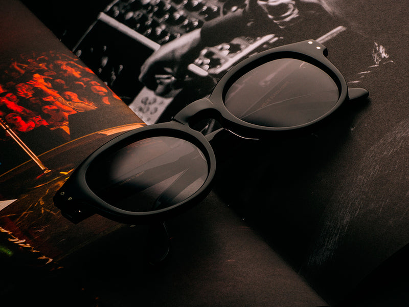 60s BLACK TIGER SUNGLASSES