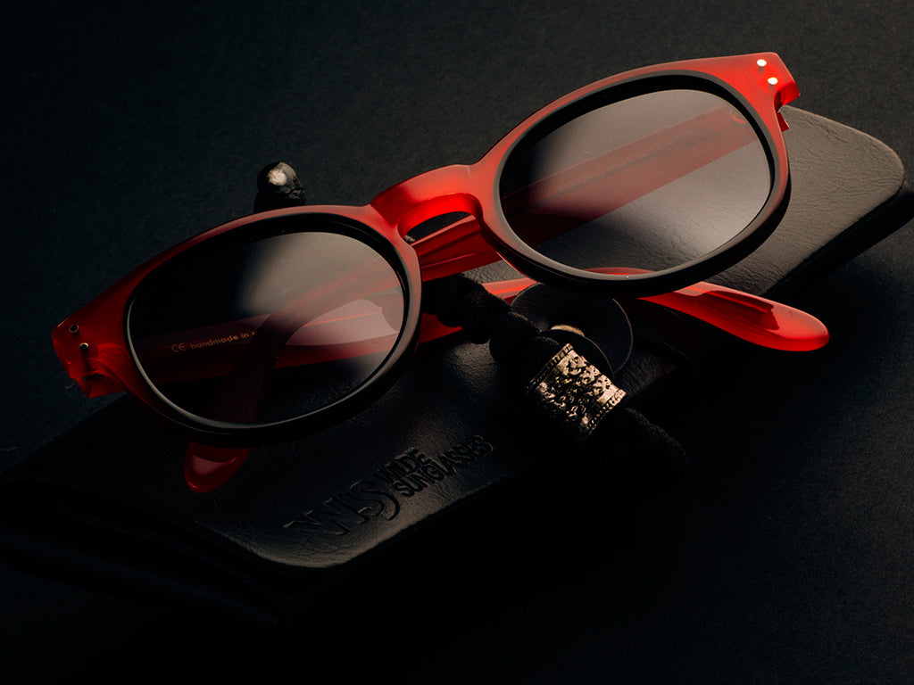 BIGSUR RED LIMITED EDITION SUNGLASSES