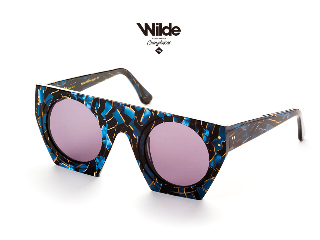 CALIFORNIA BLUE BY WILDE SUNGLASSES