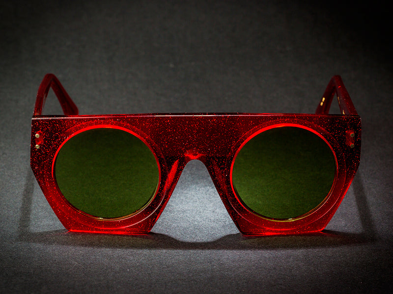 CALIFORNIA RED BY WILDE SUNGLASSES