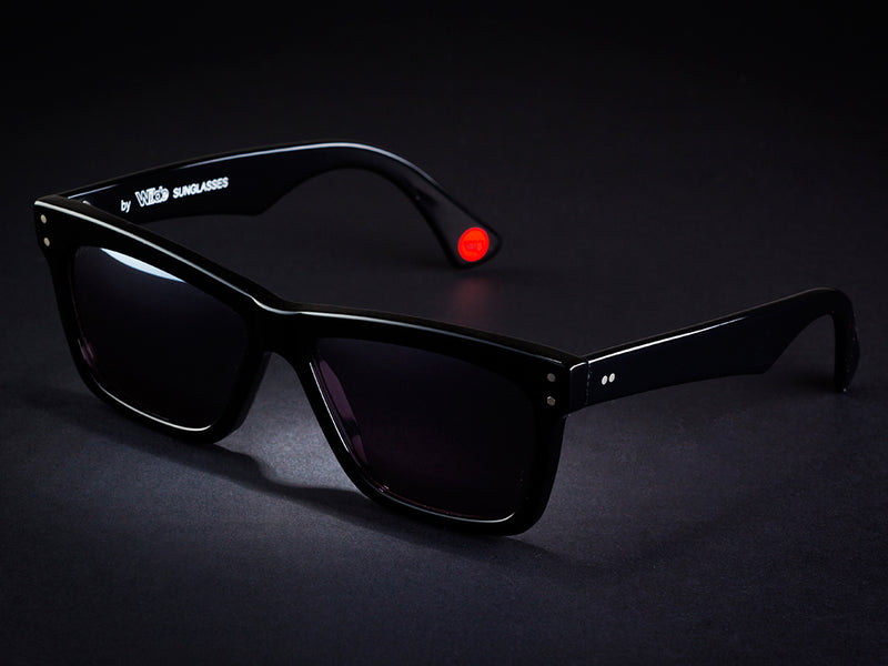 HANK - BLACK BY WILDE SUNGLASSES