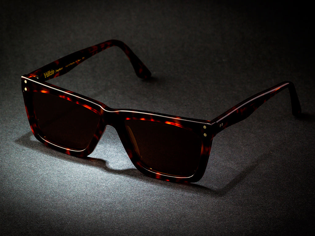 WILDE SUNGLASSES MODEL HANK DARK TORTOISE V.I COLLECTION