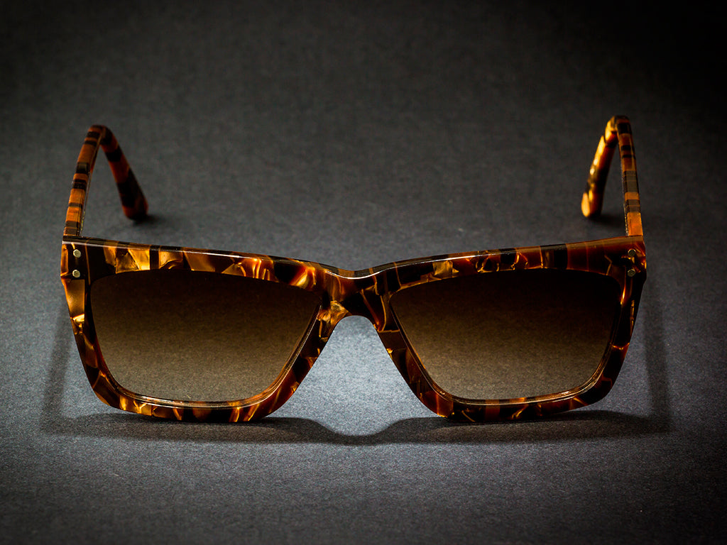 WILDE SUNGLASSES MODEL HANK GOLD COLLECTION