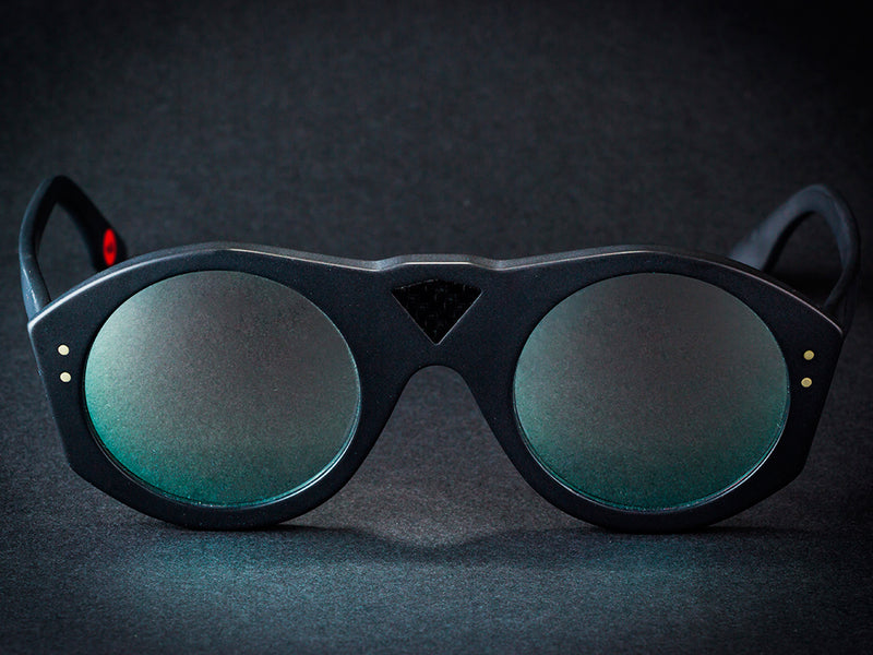 LAMBO DRIVER CARBON FIBER BLACK <BR>  SUNGLASSES