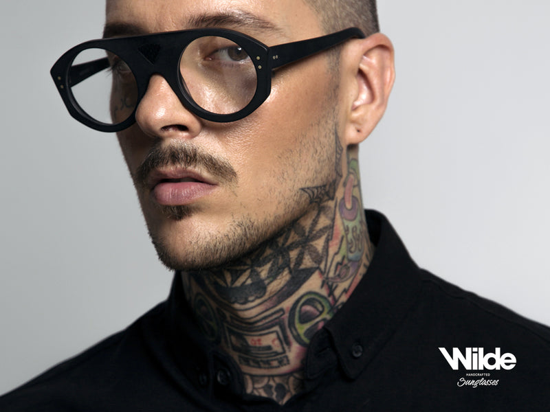 LAMBO Eyeglasses flat top