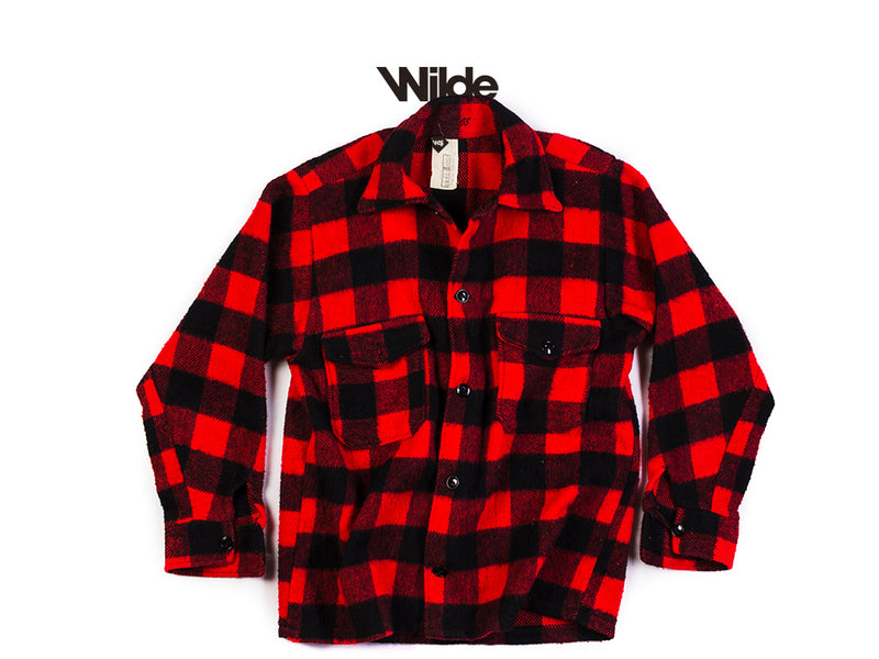 WOODCUTTER VINTAGE SHIRT RED 1/1