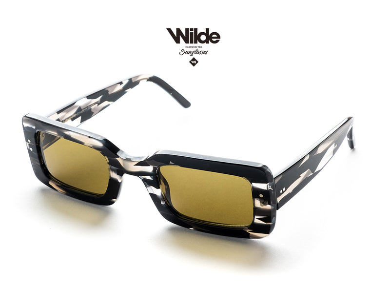 OSCAR BIG <BR> BLACK SUNGLASSES