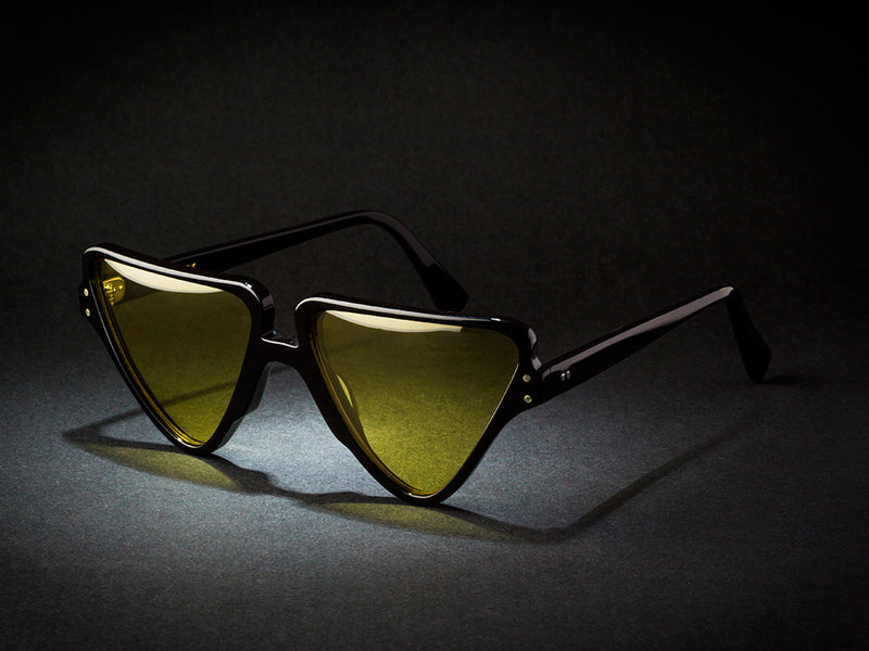 MILAN SUNGLASSES YELLOW LENSES