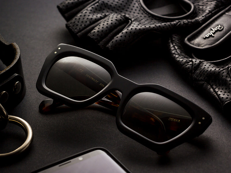 Black sunglasses mod. Osaka Sunglasses 2019. Best Sunglasses Design 2019