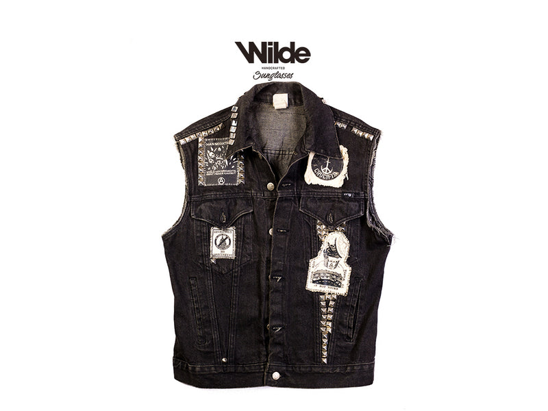PUNK VESTS VINTAGE CUSTOM ORIGINAL 1/1