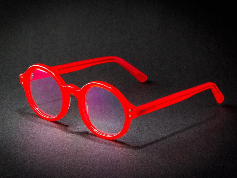 ROUND RED BY WILDE SUNGLASSES