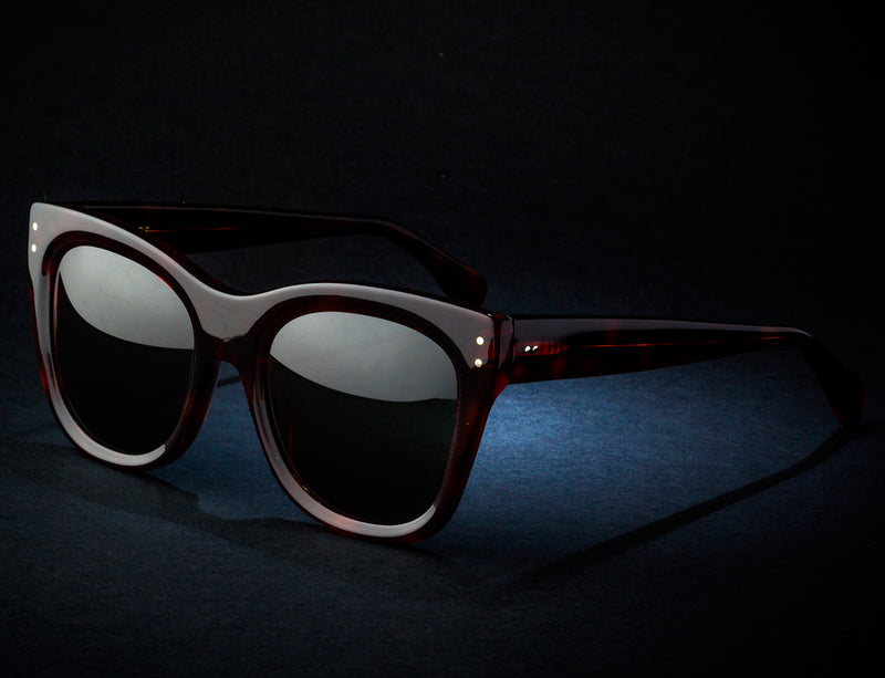 New Tortoise Limited Sunglasses mod. MINERVA 2020. Handmade by Wilde