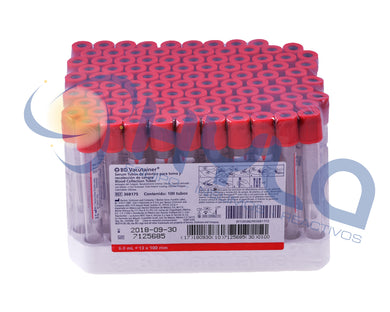 Tubo Rojo 6 ml Vacutainer®