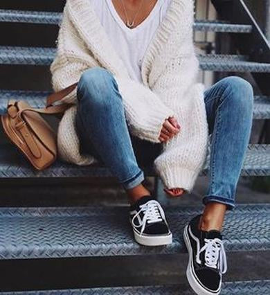 knited oversized cardigan