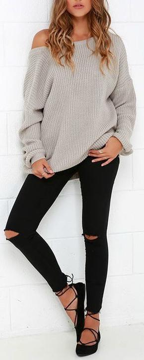 High Street loose sweater