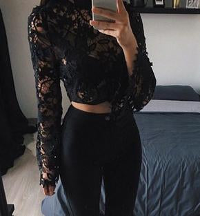 Long sleeve cute top
