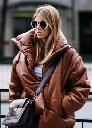 nice puffercoat winter jacket