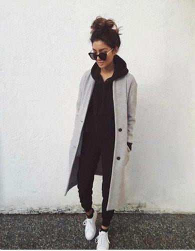 cute long light jacket