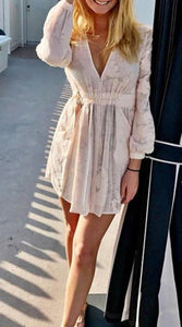 casual long sleeve dress