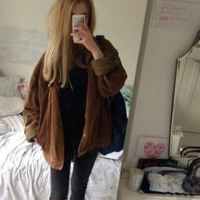 nice brown baggy jacket