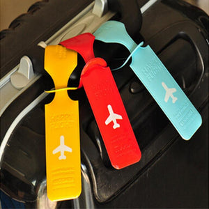 The Cute Travel Luggage Label Straps