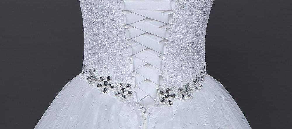 Princess Wedding Frocks Lace