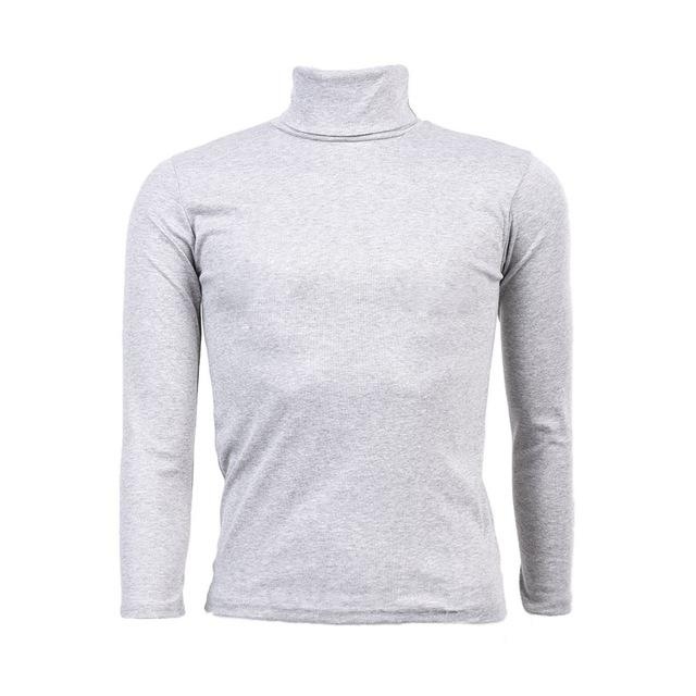 Turtleneck Solid Pullover