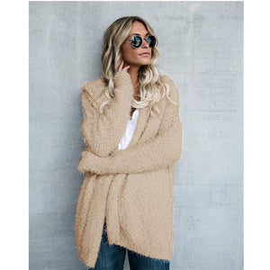 Casual lighter shade hooded